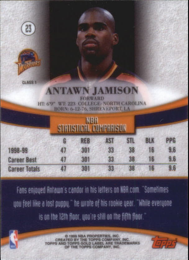 1999-00-Topps-Gold-Label-Class-1-Basketball-Cards-Pick-From-List thumbnail 41
