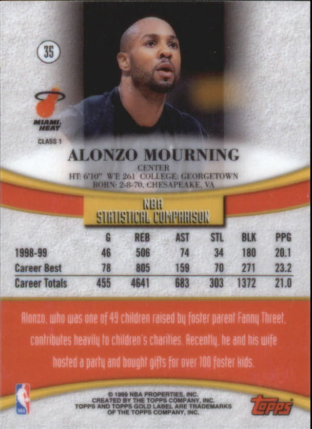 1999-00-Topps-Gold-Label-Class-1-Basketball-Cards-Pick-From-List thumbnail 63