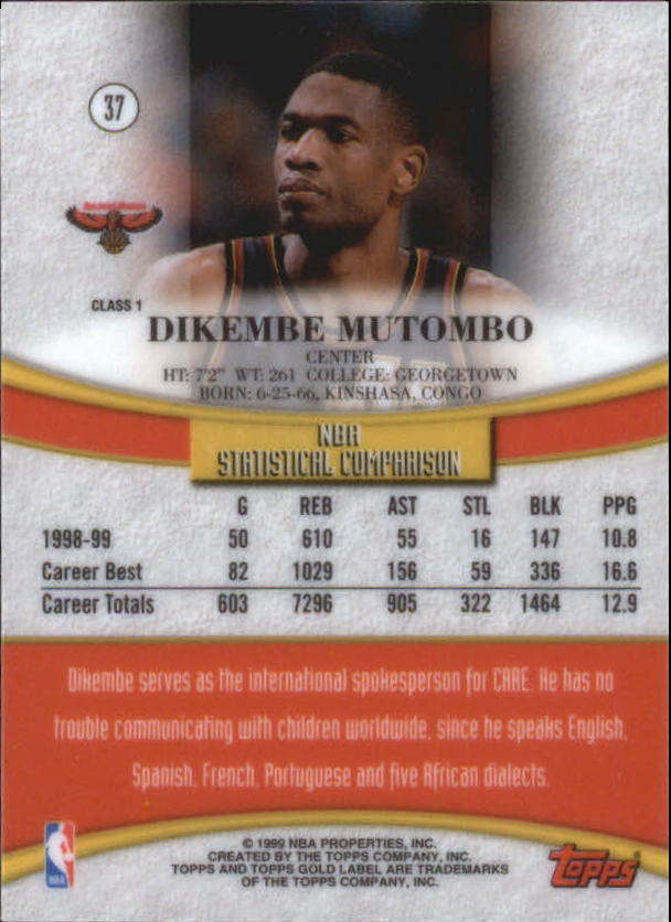 1999-00-Topps-Gold-Label-Class-1-Basketball-Cards-Pick-From-List thumbnail 67