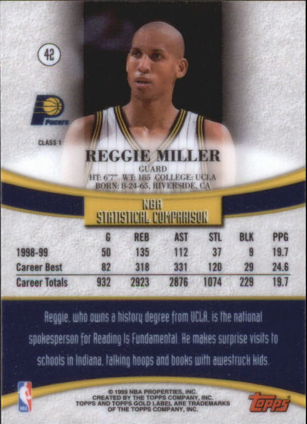 1999-00-Topps-Gold-Label-Class-1-Basketball-Cards-Pick-From-List thumbnail 75