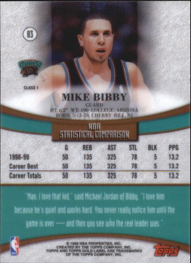 1999-00-Topps-Gold-Label-Class-1-Basketball-Cards-Pick-From-List thumbnail 149