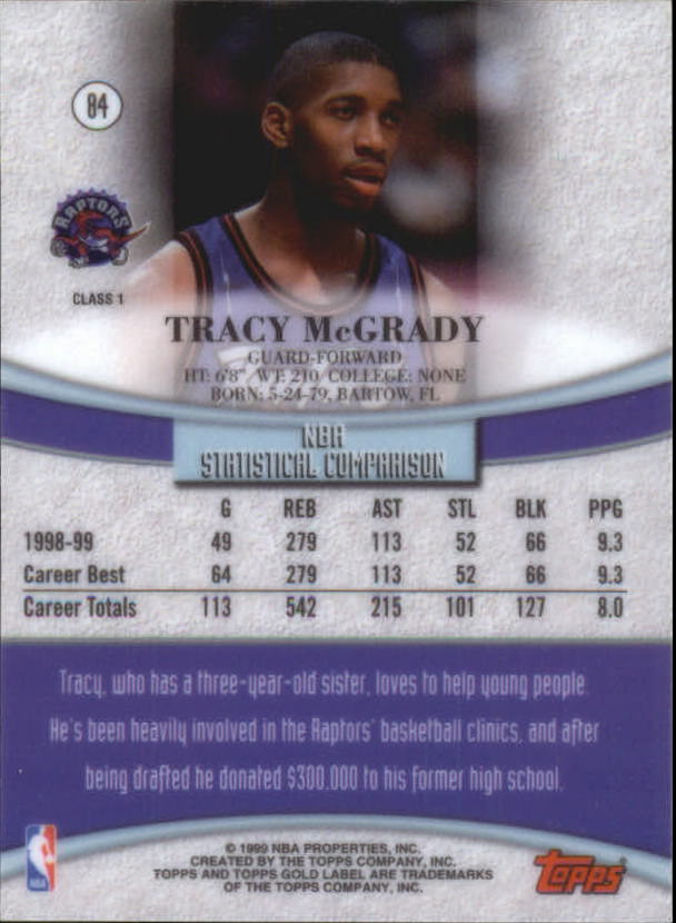 1999-00-Topps-Gold-Label-Class-1-Basketball-Cards-Pick-From-List thumbnail 151