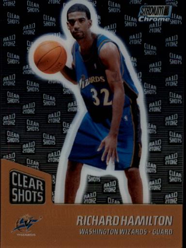 1999-00 Stadium Club Chrome Clear Shots #CS6 Richard Hamilton