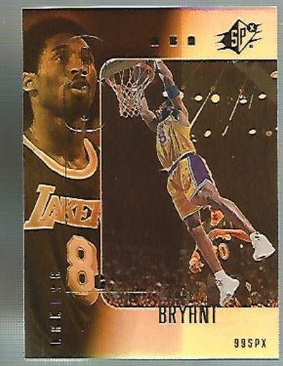 1999-00 SPx #37 Kobe Bryant