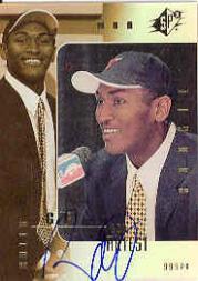 1999-00 SPx #106 Ron Artest AU RC