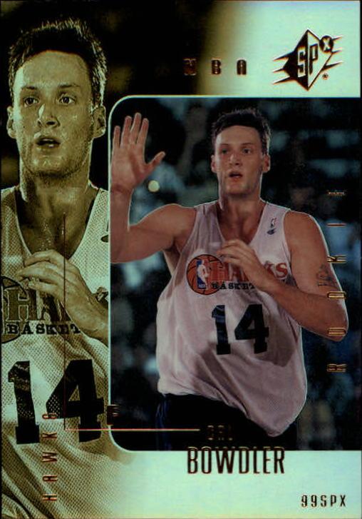 1999-00 SPx #107 Cal Bowdler/3500 RC