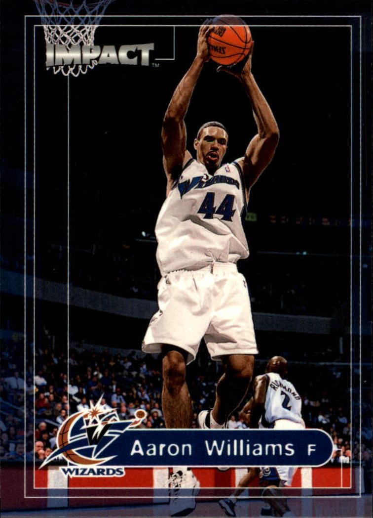 1999-00 SkyBox Impact #147 Aaron Williams