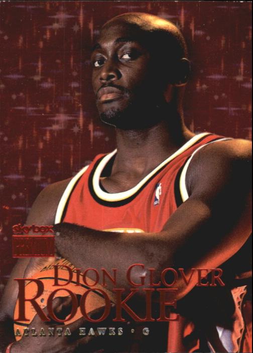1999-00 SkyBox Premium Star Rubies #120 Dion Glover