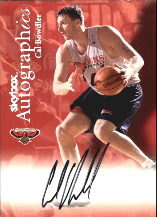 1999-00 SkyBox Premium Autographics #12 Cal Bowdler