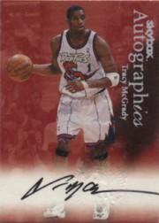 1999-00 SkyBox Premium Autographics #73 Tracy McGrady