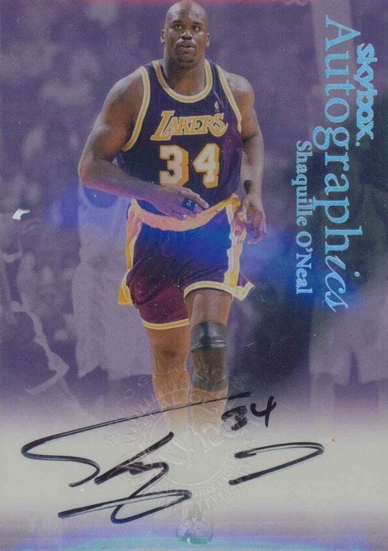 1999-00 SkyBox Premium Autographics #80 Shaquille O'Neal