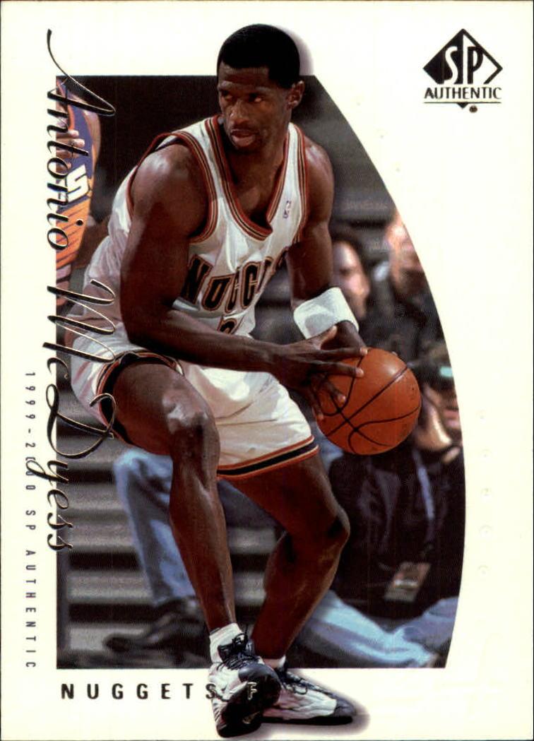 1999-00 SP Authentic #20 Antonio McDyess
