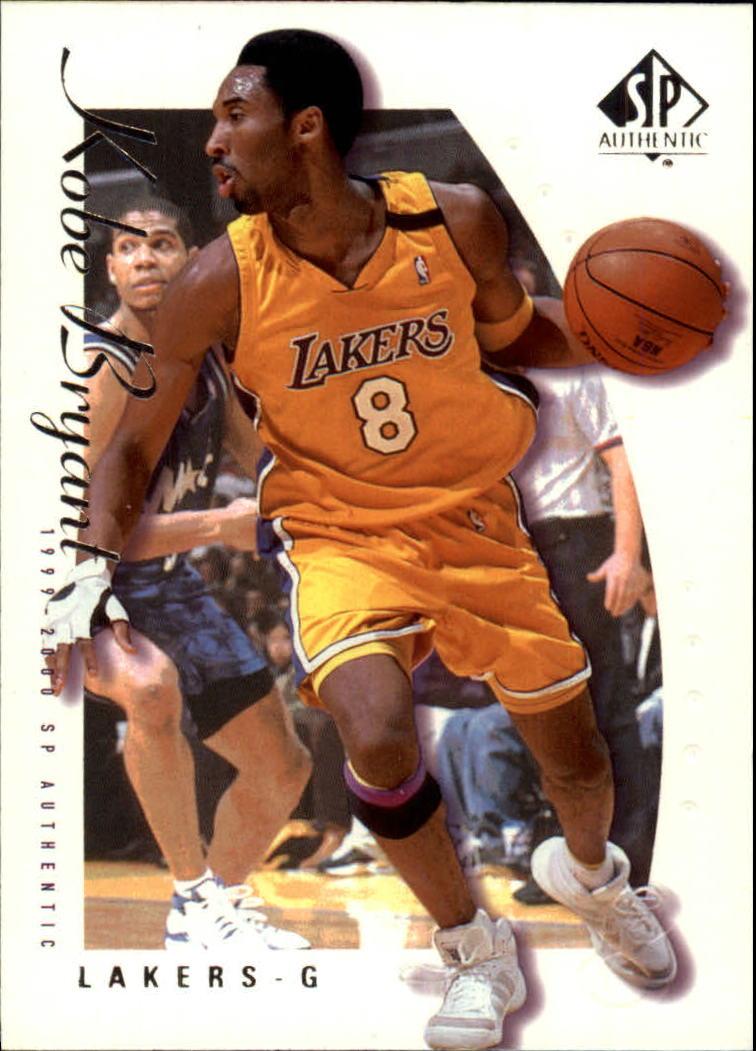 1999-00 SP Authentic #38 Kobe Bryant