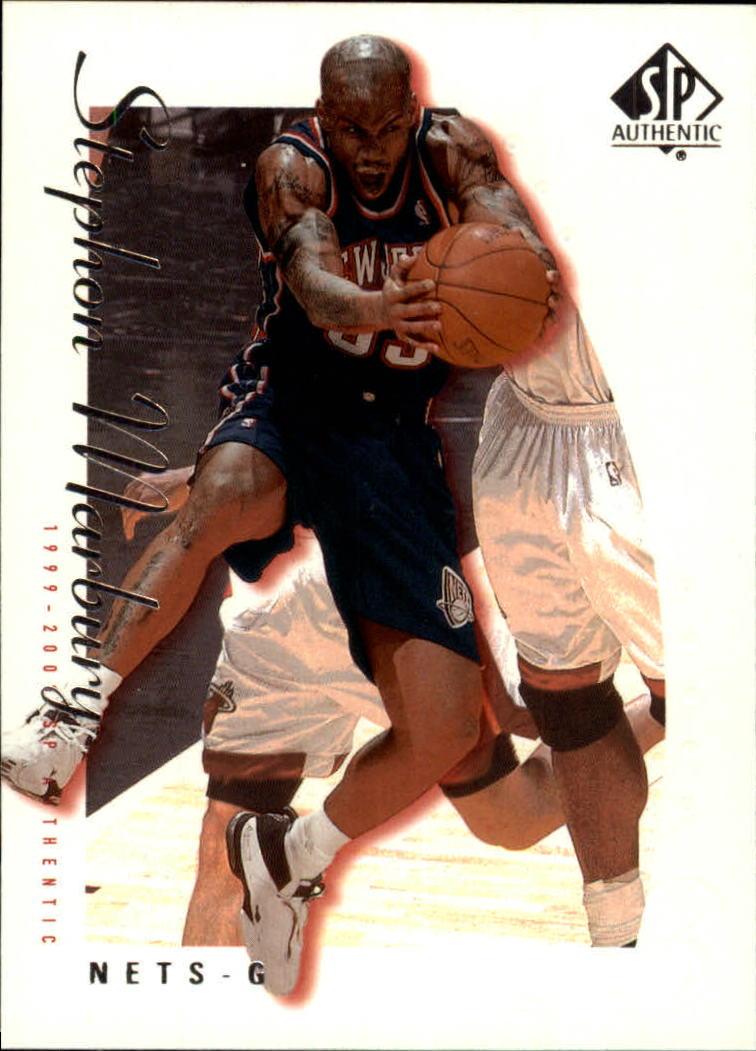 1999-00 SP Authentic #50 Stephon Marbury