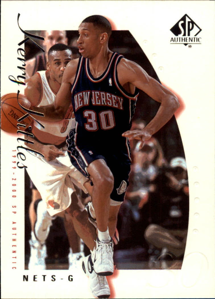 1999-00 SP Authentic #53 Kerry Kittles
