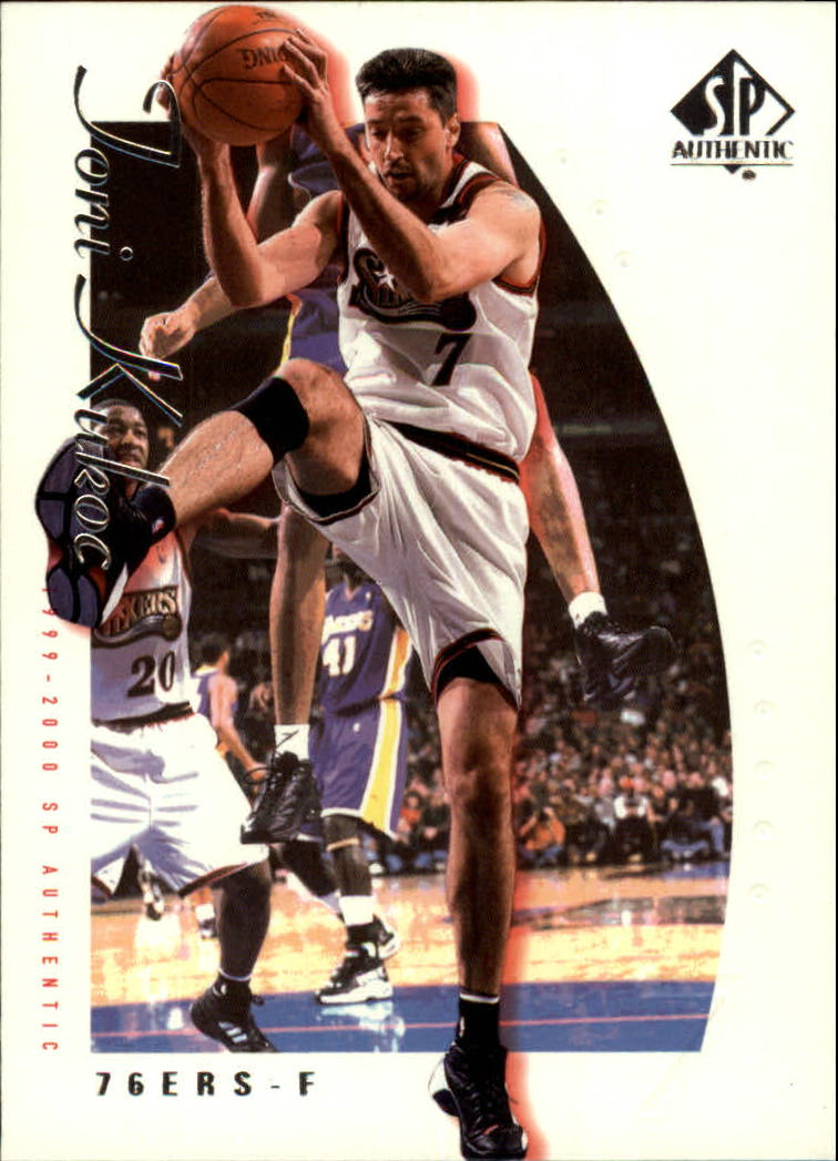 1999-00 SP Authentic #61 Toni Kukoc