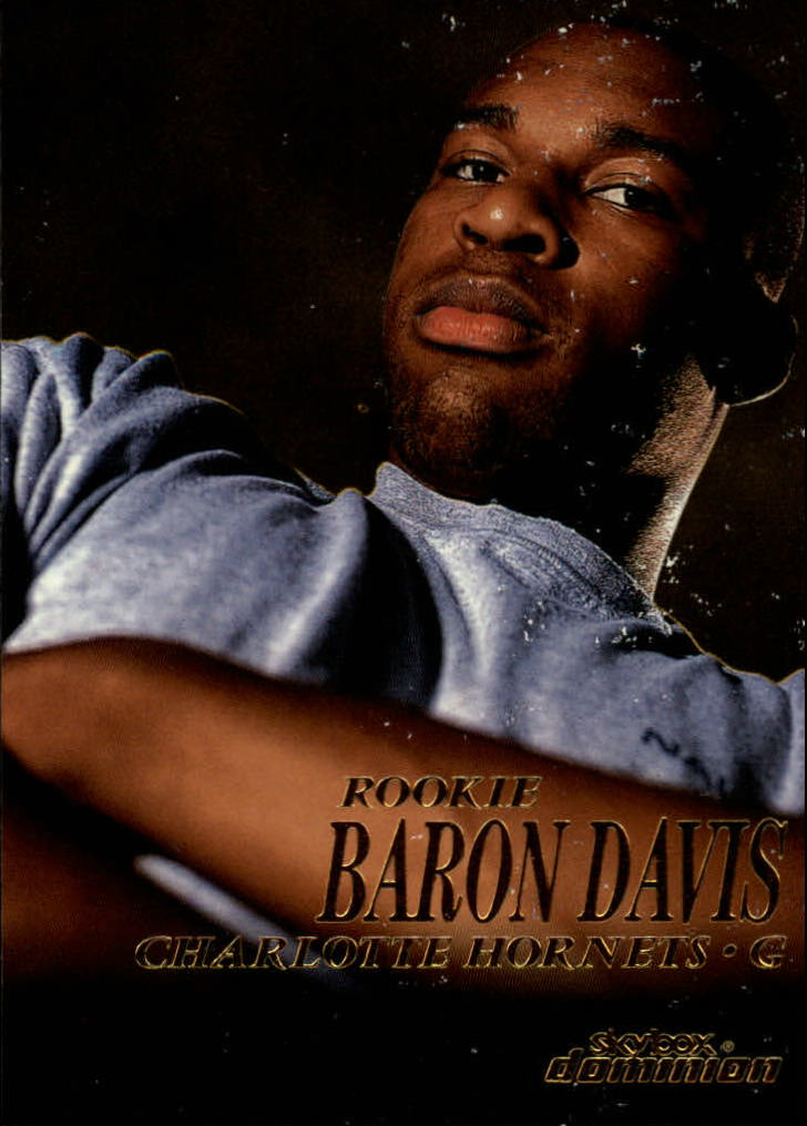 1999-00 SkyBox Dominion #204 Baron Davis RC