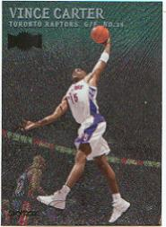 1999-00 Metal Emeralds #1 Vince Carter