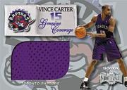 1999-00 Metal Genuine Coverage #1 Vince Carter