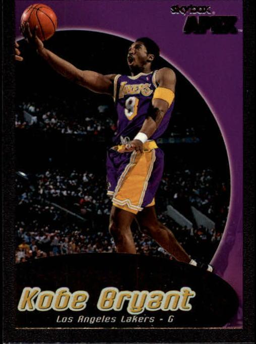 1999-00 SkyBox APEX #4 Kobe Bryant
