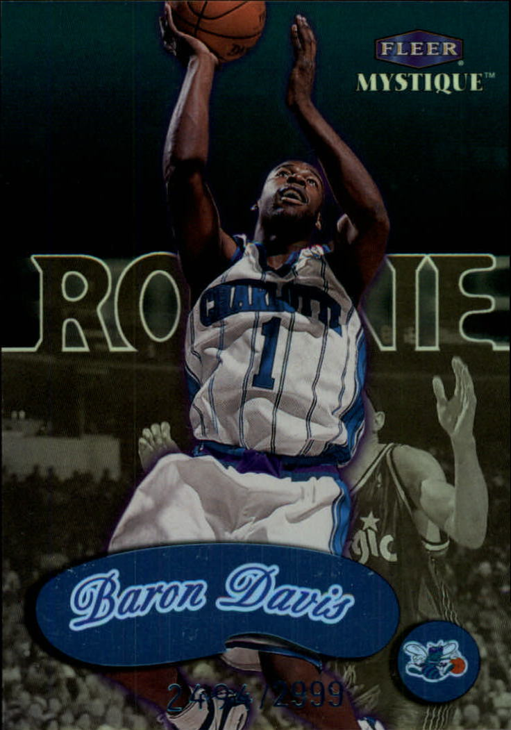 1999-00 Fleer Mystique #103 Baron Davis RC