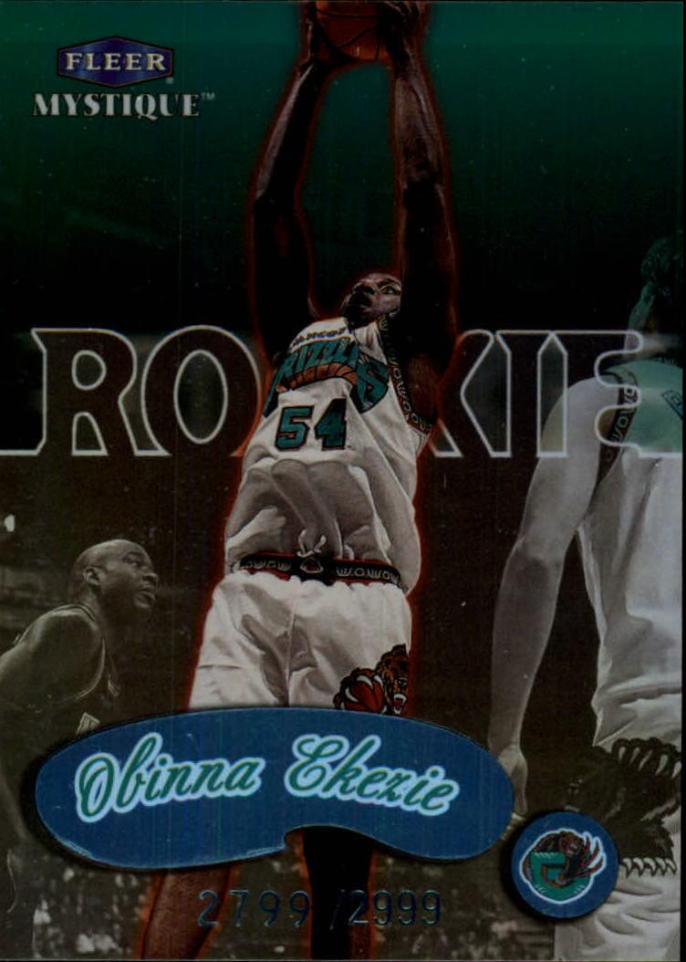 1999-00 Fleer Mystique #138 Obinna Ekezie RC
