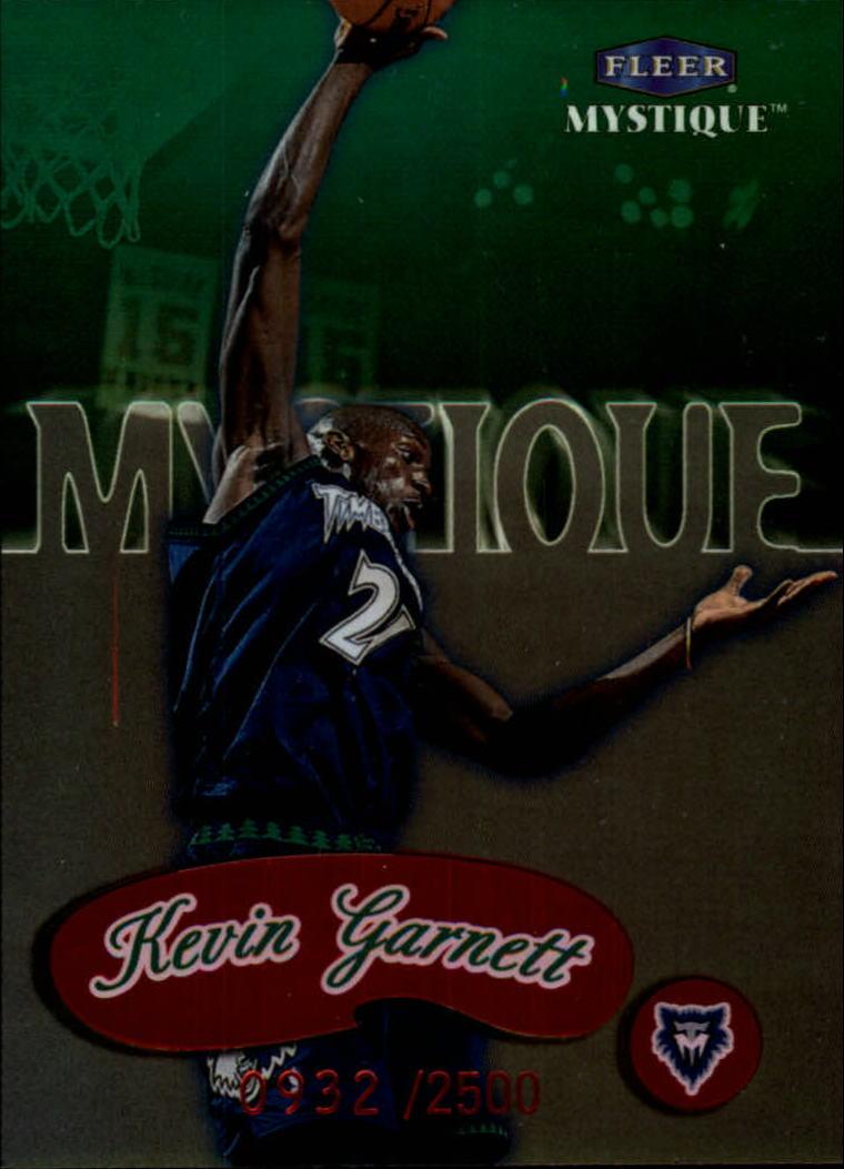1999-00 Fleer Mystique #144 Kevin Garnett STAR