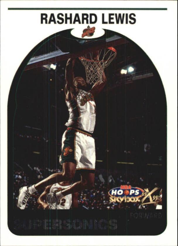 1999-00 Hoops Decade Hoopla #18 Rashard Lewis