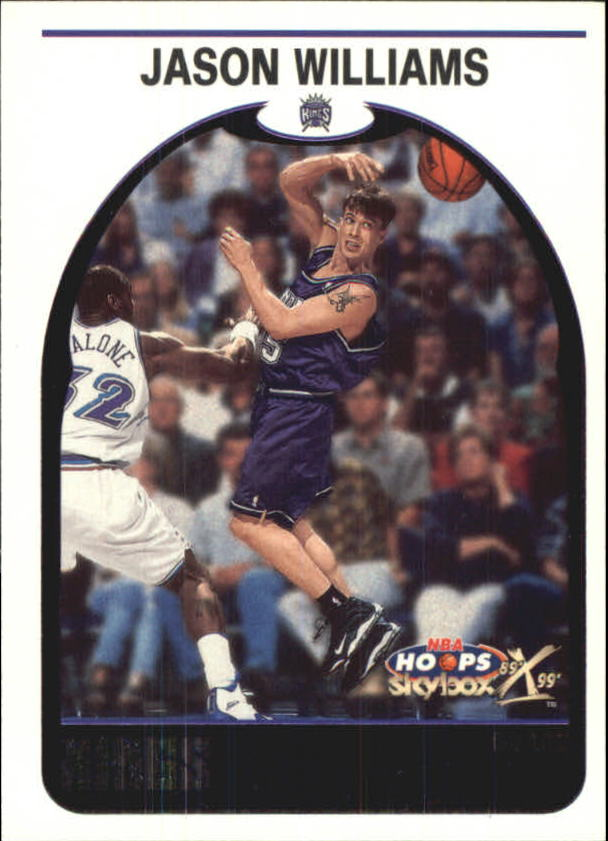 1999-00 Hoops Decade Hoopla #107 Jason Williams
