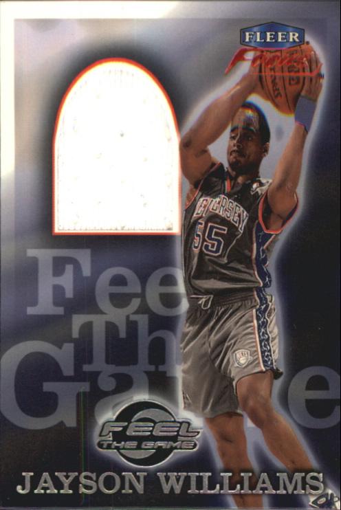 1999-00 Fleer Focus Feel the Game #6 Jayson Williams