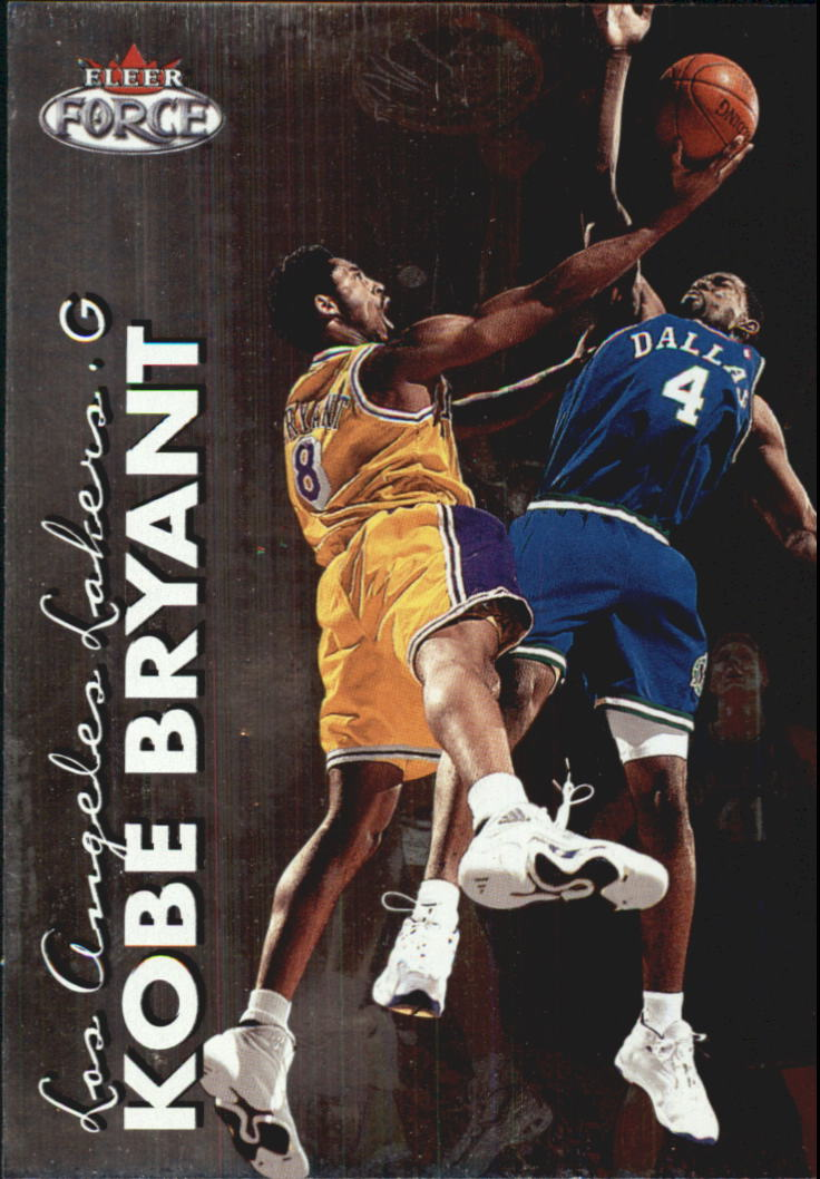 1999-00 Fleer Force #2 Kobe Bryant