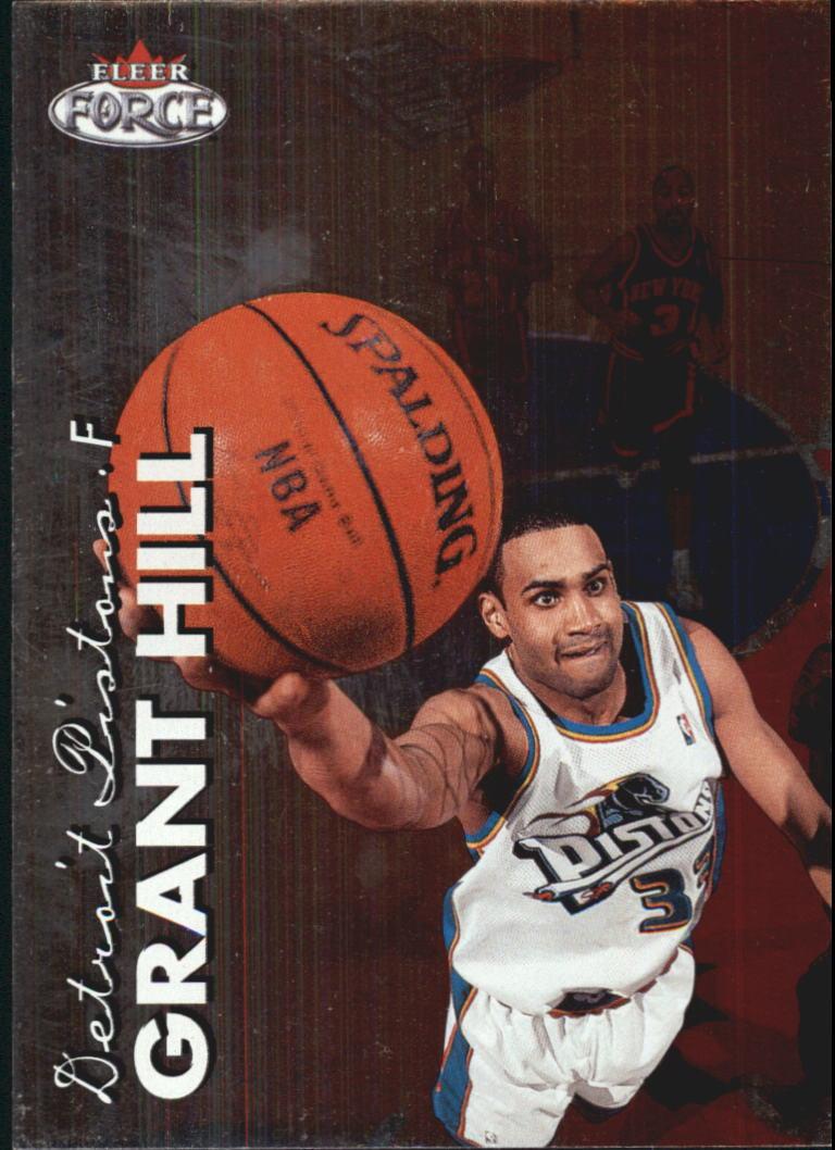 1999-00 Fleer Force #5 Grant Hill