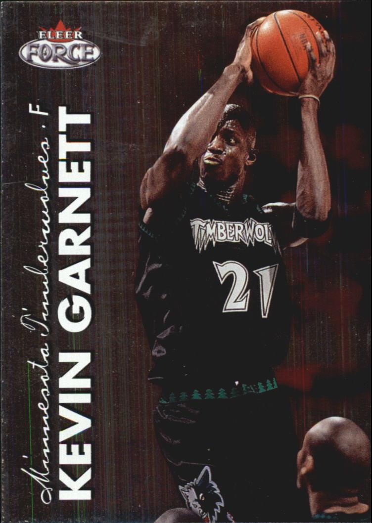 1999-00 Fleer Force #6 Kevin Garnett