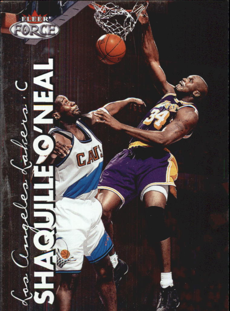 1999-00 Fleer Force #51 Shaquille O'Neal