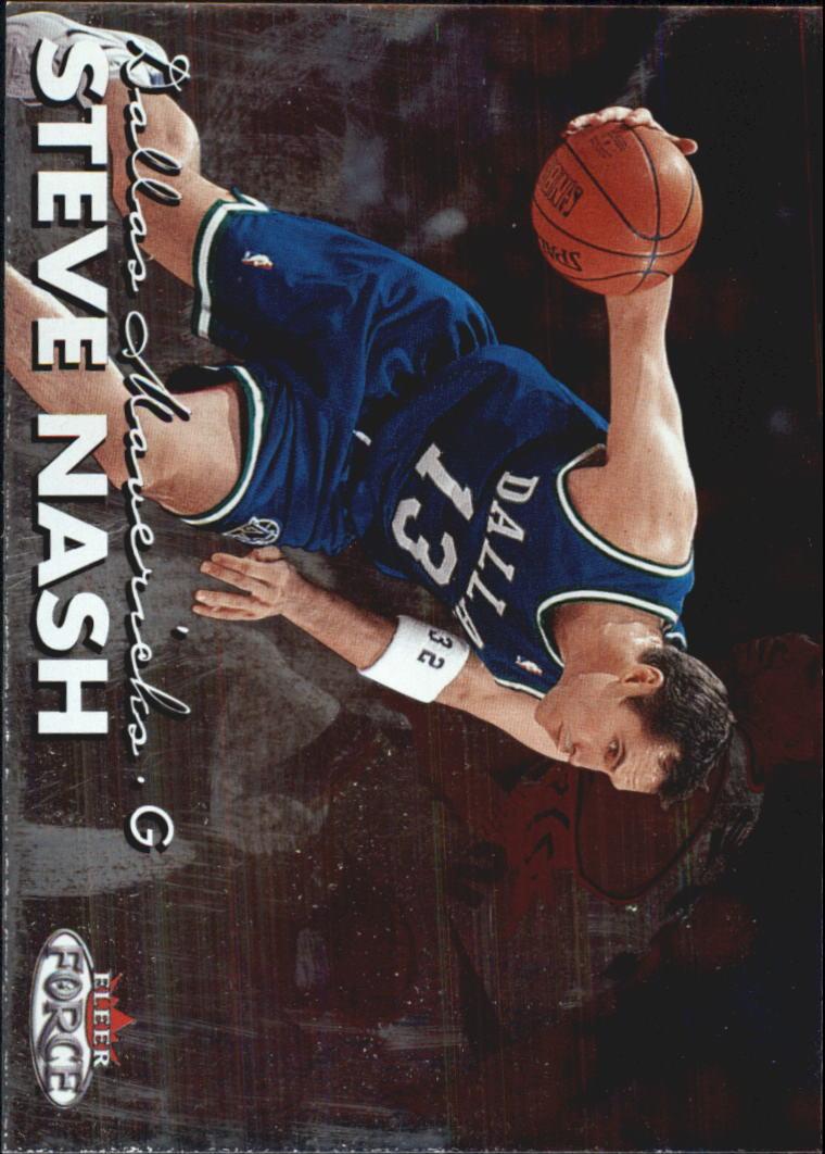 1999-00 Fleer Force #101 Steve Nash