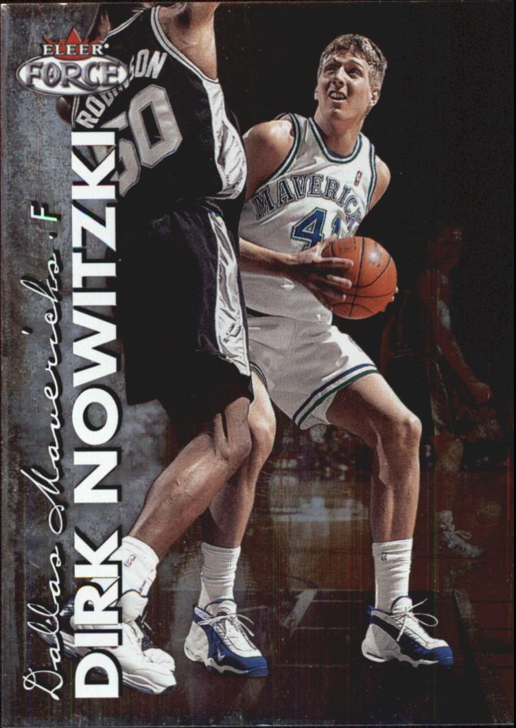 1999-00 Fleer Force #130 Dirk Nowitzki