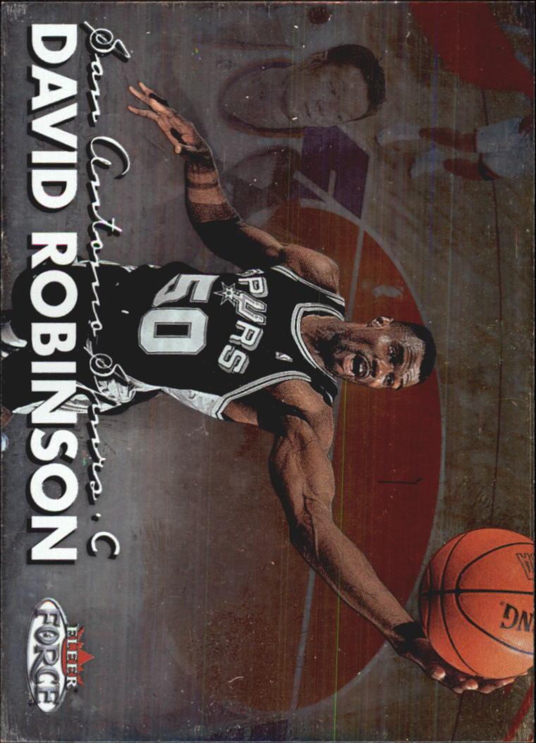 1999-00 Fleer Force #151 David Robinson