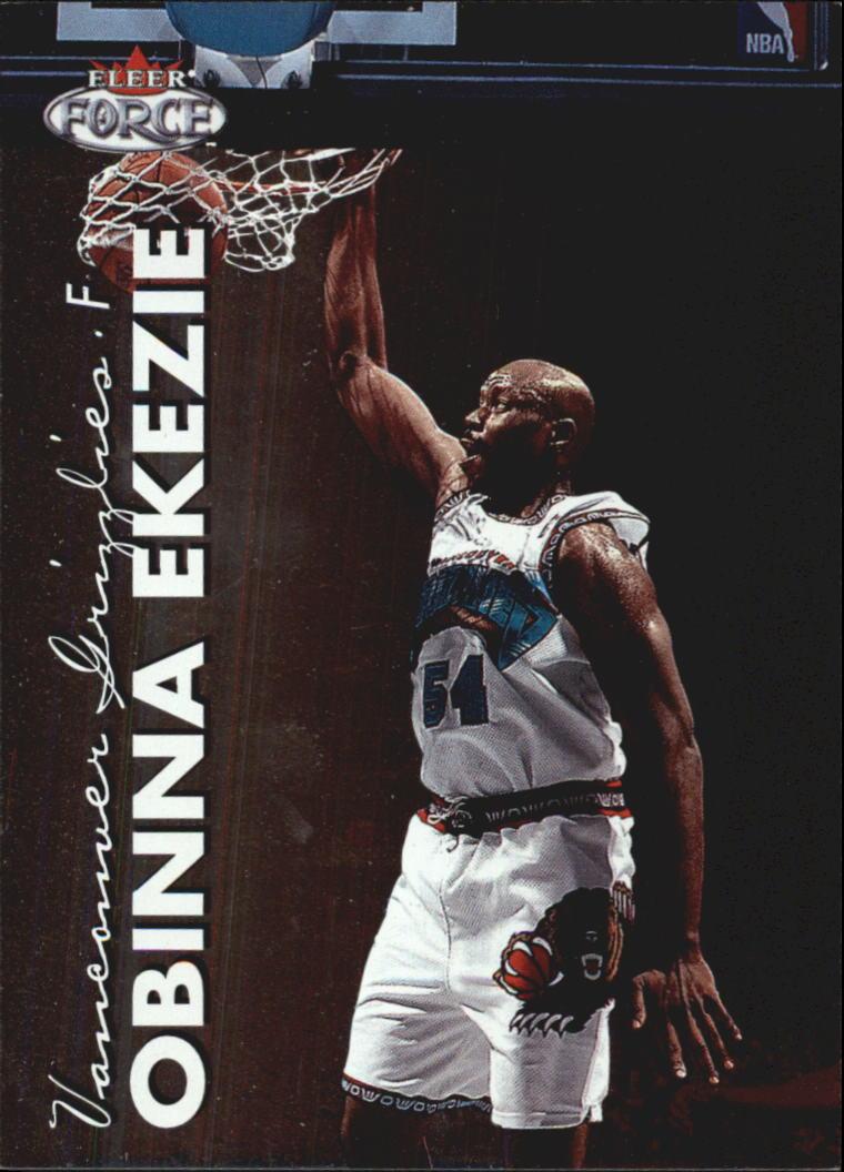 1999-00 Fleer Force #229 Obinna Ekezie RC