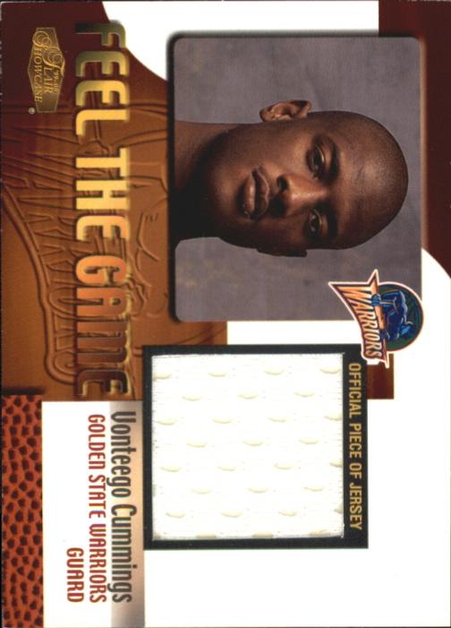 1999-00 Flair Showcase Feel the Game #3 Vonteego Cummings