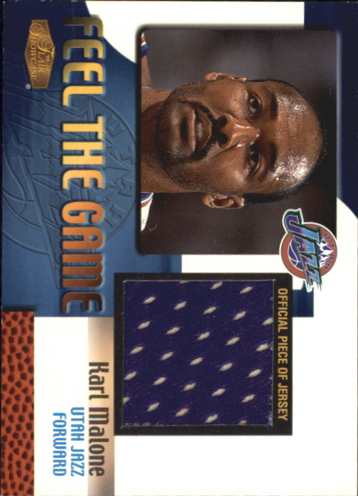 1999-00 Flair Showcase Feel the Game #6 Karl Malone