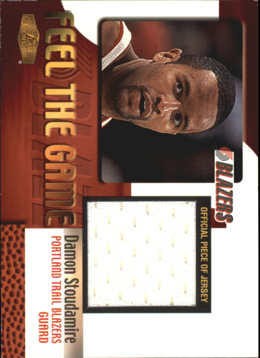 1999-00 Flair Showcase Feel the Game #13 Damon Stoudamire