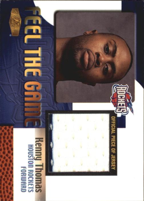 1999-00 Flair Showcase Feel the Game #14 Kenny Thomas