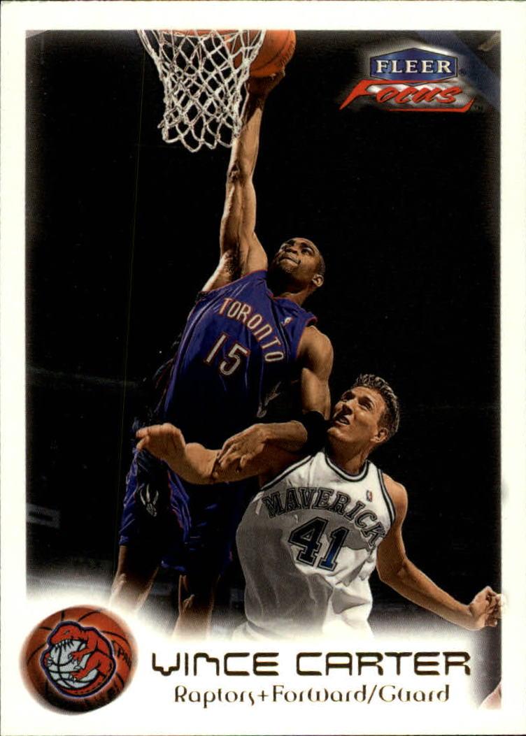 1999-00 Fleer Focus #44 Vince Carter
