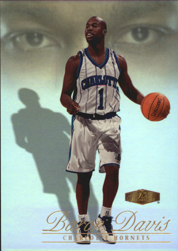 1999-00 Flair Showcase #105 Baron Davis RC