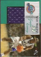 1999-00 E-X Genuine Coverage #GC4 Karl Malone