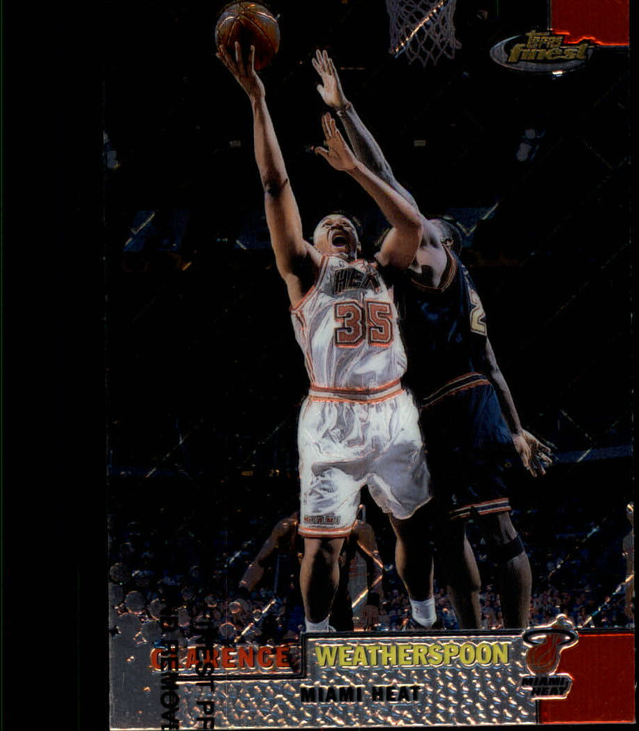 1999-00 Finest #19 Clarence Weatherspoon