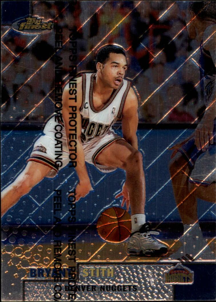 1999-00 Finest #31 Bryant Stith