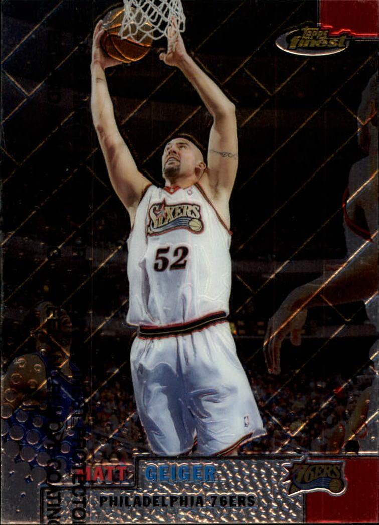 1999-00 Finest #50 Matt Geiger