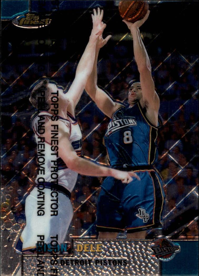 1999-00 Finest #96 Bison Dele