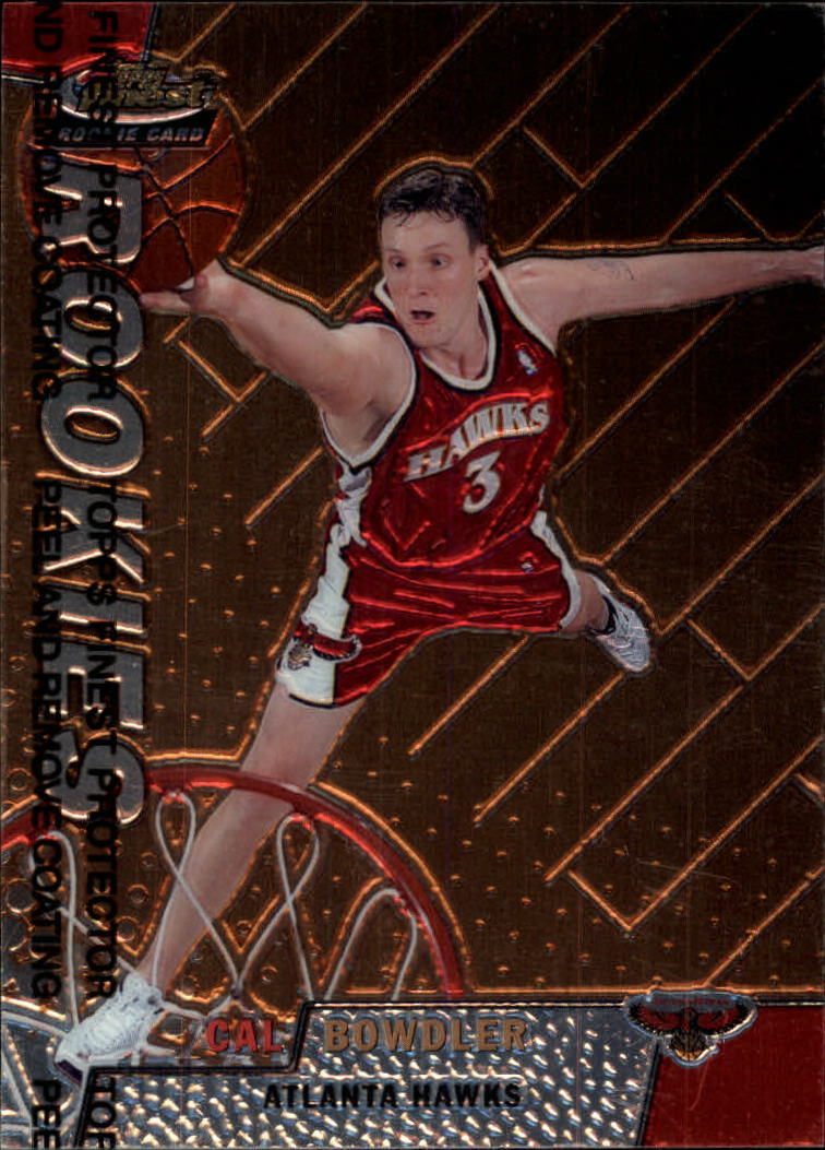 1999-00 Finest #113 Cal Bowdler RC